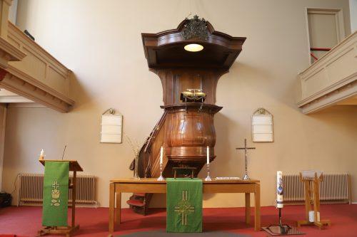 liturgisch centrum - groen